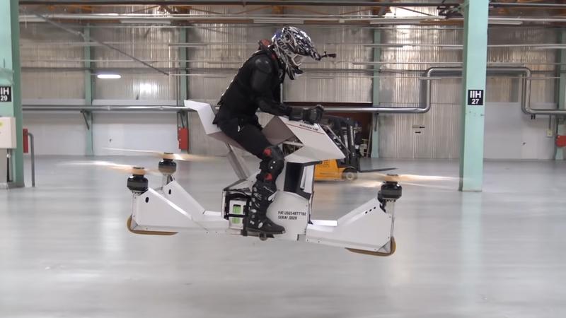 Scorpion 3: kolejna wersja latającego motocykla z Rosji
