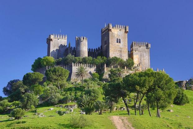 Castillo de Almodóvar del Río, Kordoba, Hiszpania