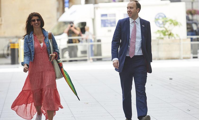 Brytyjski minister zdrowia Matt Hancock (42 l.) miał romans ze swoją doradczynią Giną Coladangelo (43 l.).