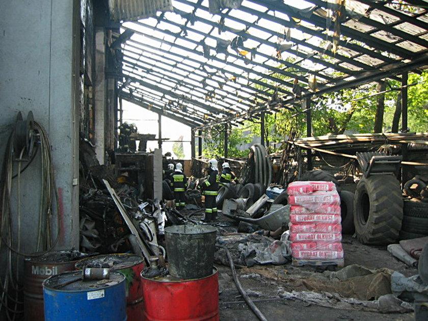 Czerwionka-Leszczyny. Pożar warsztatu samochodowego przy ul. Furgoła
