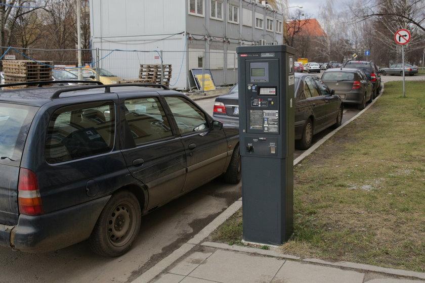 Parkomat we Wrocławiu