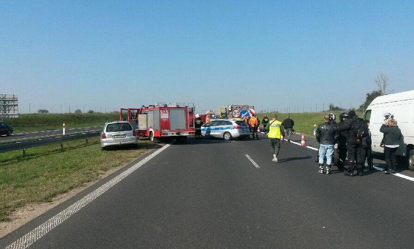 Kutno, A1, wypadek
