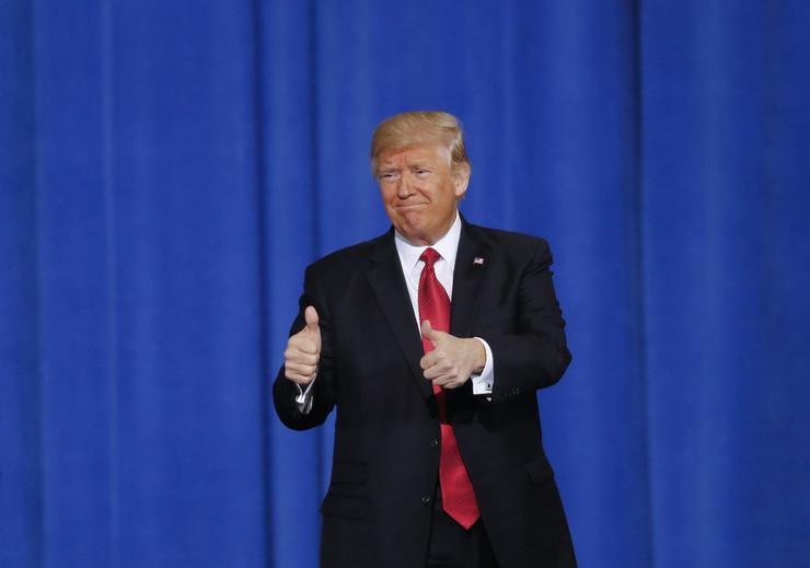 Donald Tramp, Predsednik, SAD