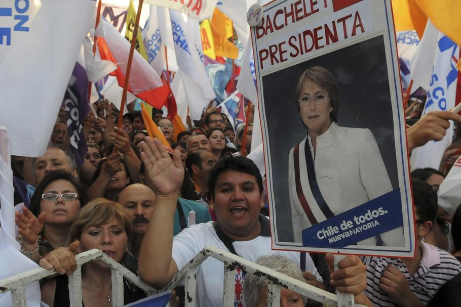 CHILE-ELECTION/Michelle Bachelet