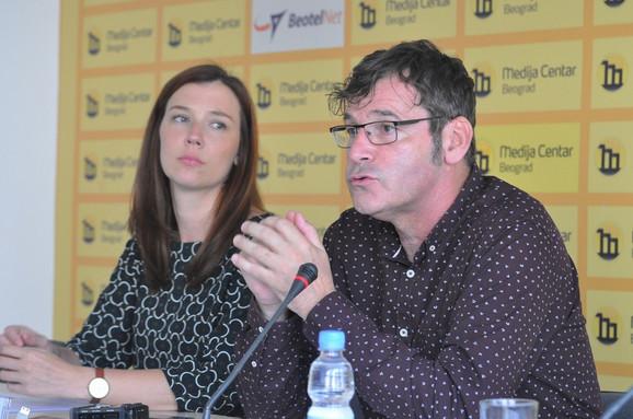 Milena Berić i Vladimir Arsenijević