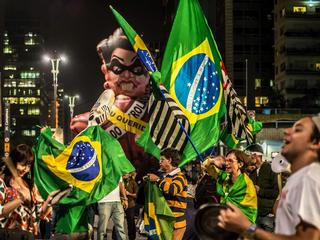 Protest against Brazil's President Dilma Rousseff