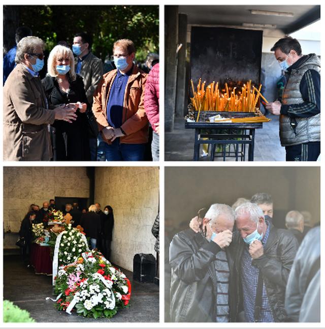 Bora Drljača, sahrana