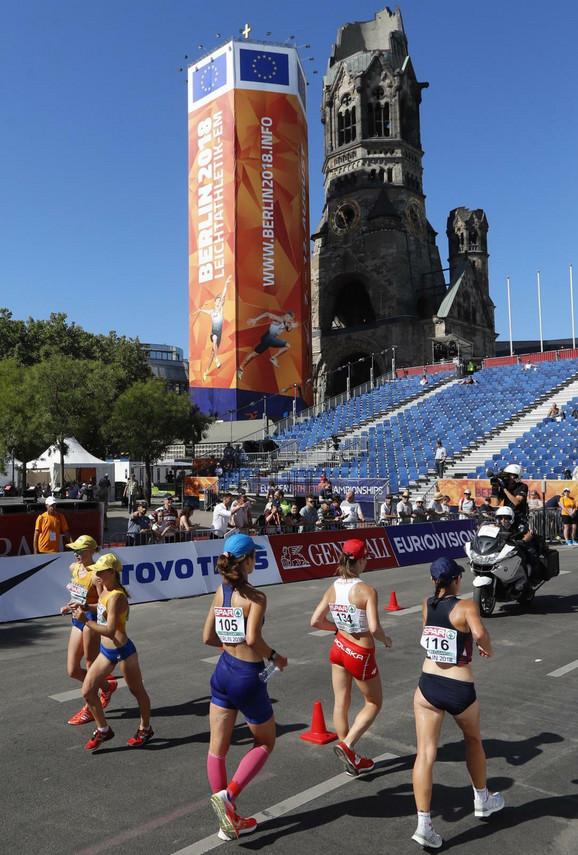 Brzo hodanje na Evropskom prvenstvu u Berlinu