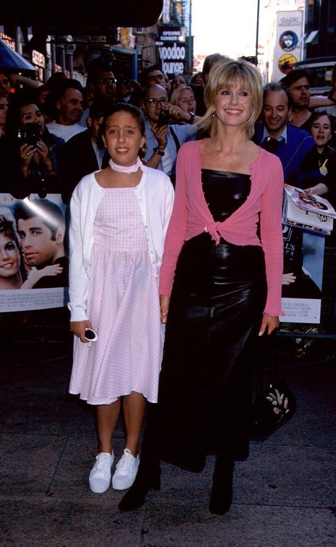 Kloi iz tinejdžerskih dana sa mamom Olivijom