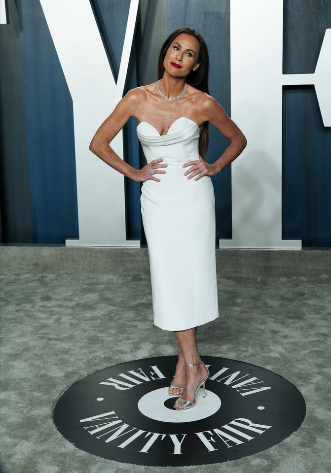 Oscary 2020: Minnie Driver na Vanity Fair Oscar Party