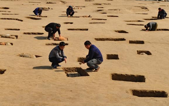 Otkopavanja drevnih grobnica u Kini