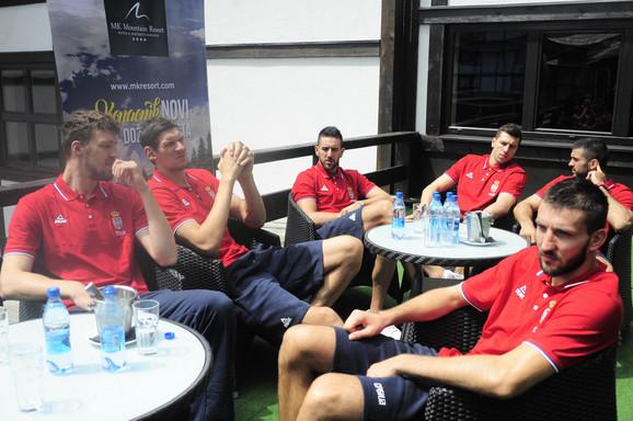 Produžen boravak na Kopu: Košarkaši Srbije