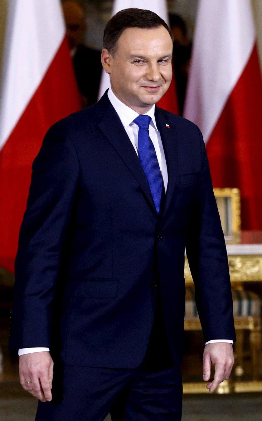 Prezydent Duda bije rekordy popularności