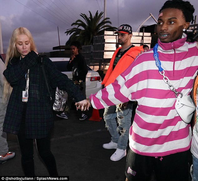 The couple sparked engagement rumors in July when Iggy flaunted a massive ring on her left ring finger during an appearance on The X Change Rate.[DailyMail]