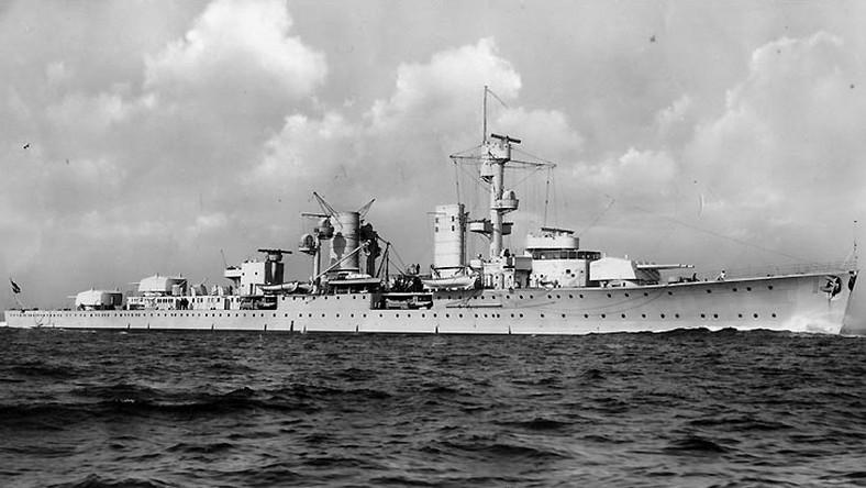 Niemiecki krążownik Karlsruhe