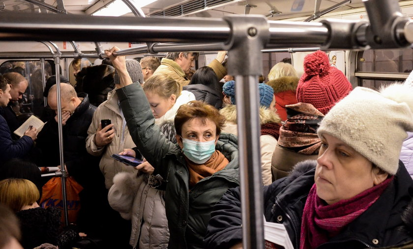 Już ponad 100 ofiar grypy w Rosji
