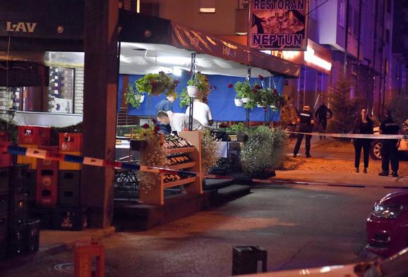 Lokal u kom je sedeo MMA boac kad je upucan
