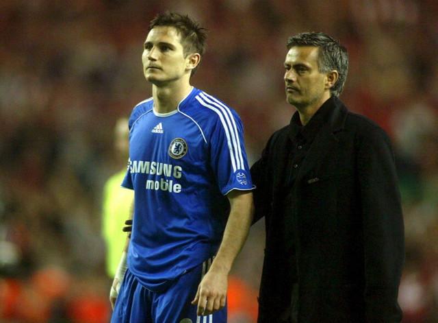 Frenk Lampard i Žoze Murinjo