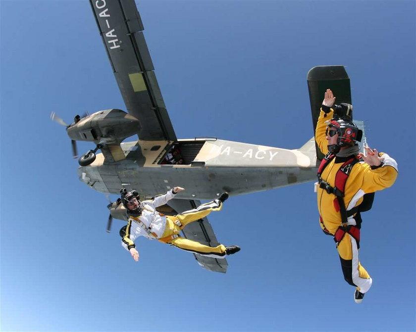 Niezniszczalni: Skoczył bez spadochronu i przeżył