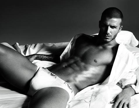 David Beckham w reklamie bielizny Armaniego