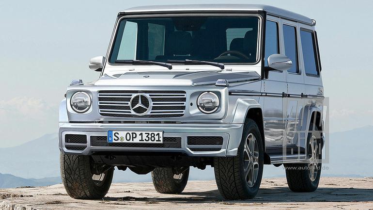 Nowy Mercedes klasy G - wizja