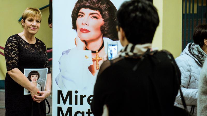 Koncert Mireille Mathieu - zdjęcia publiczności / Wrocław - Hala Stulecia