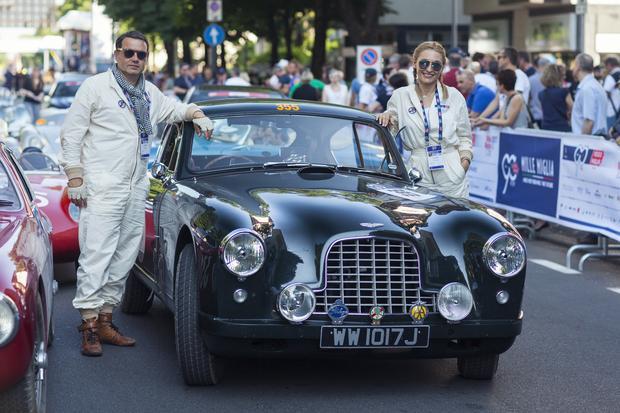 """Perlage Team na rajdzie """"Mille Miglia"""""""