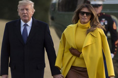 Melanija i Donald Tramp