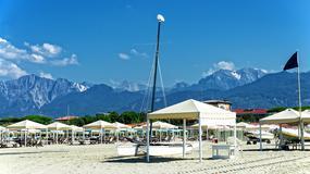 Najdroższe włoskie plaże. Cena za dzień pobytu? Nawet 1000 euro