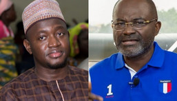 Kennedy Agyapong and Alhassan Suhuniyi