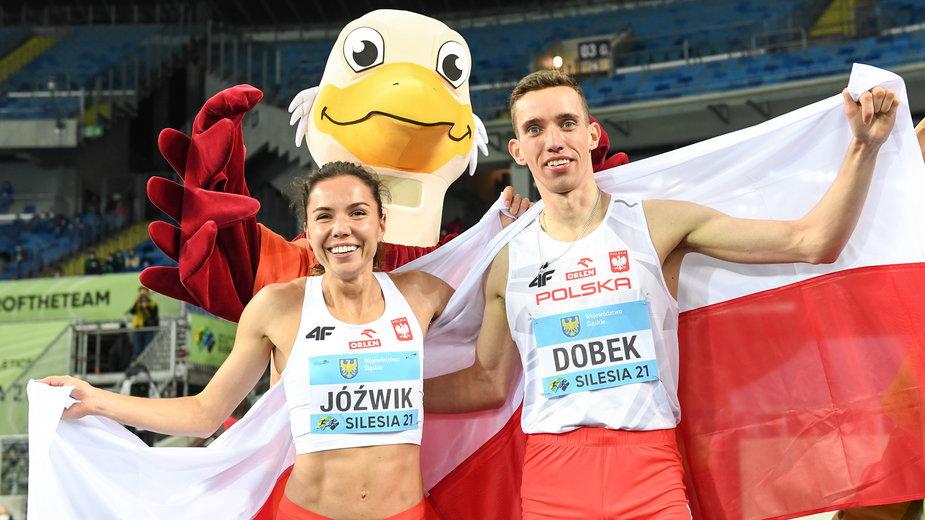 Joanna Jóźwik i Patryk Dobek