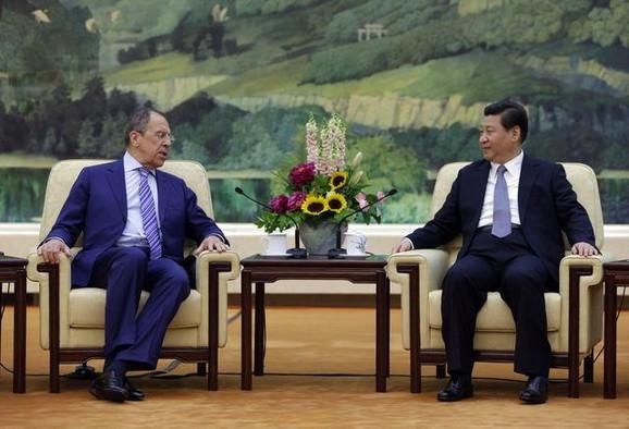 Sergej Lavrov i kineski predsednik Si Đinping