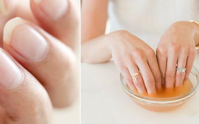 Znalezione obrazy dla zapytania jak szybko zapuścić paznokcie domowe sposoby