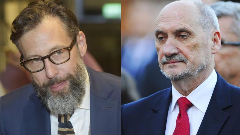 Szymon Majewski, Antoni Macierewicz