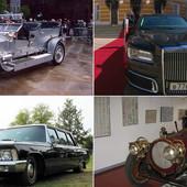 SVE LIMUZINE KREMLJA Nekada su ruski predsednici vozili kopije zapadnih automobila, a danas Putin ima svoju ZVER NA TOČKOVIMA (FOTO, VIDEO)