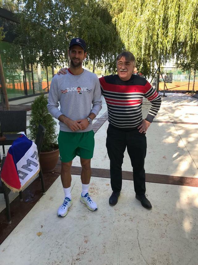 Konačno se upoznali: Novak Đoković i Žarko Petković