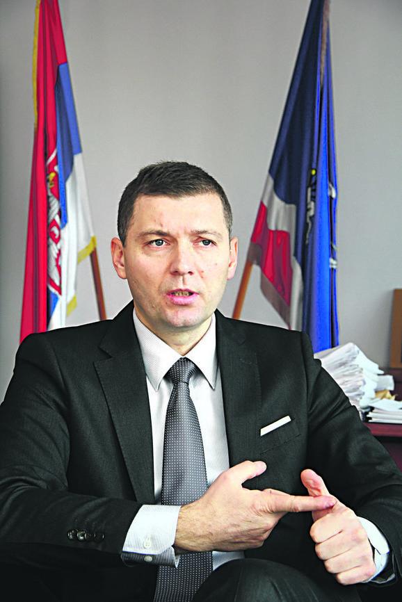 Nebojša Zelenović, gradonačelnik Šapca