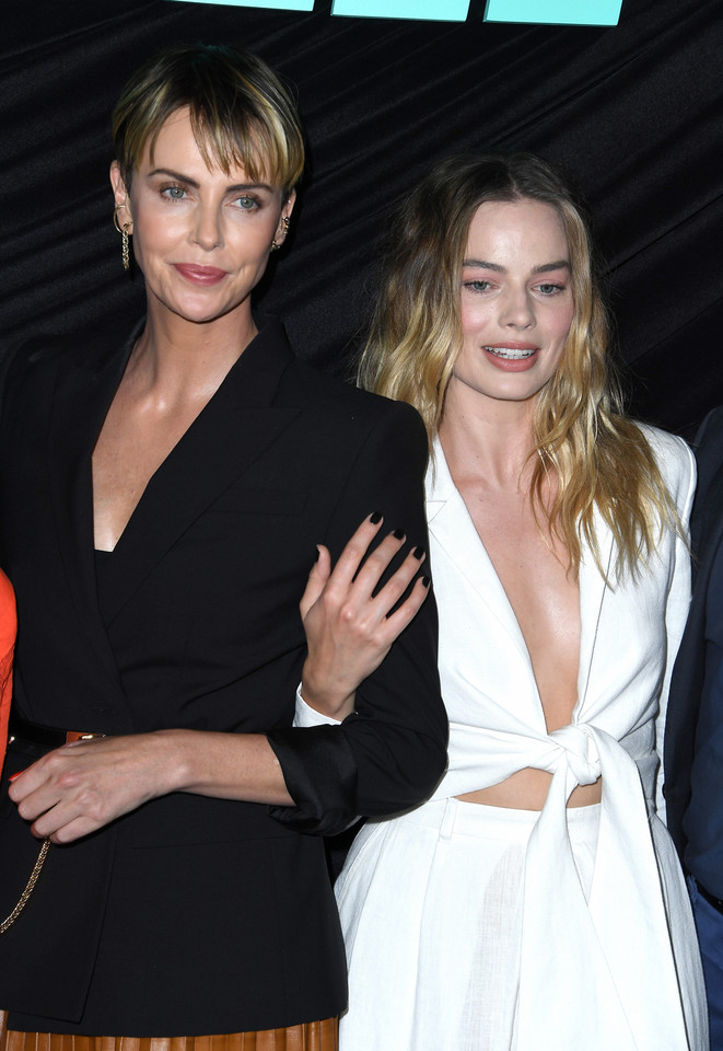 Charlize Theron i Margot Robbie