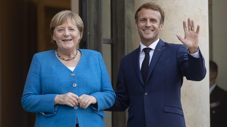 Macron i Merkel zapowiadają ścisłą współpracę do czasu utworzenia nowego rządu RFN