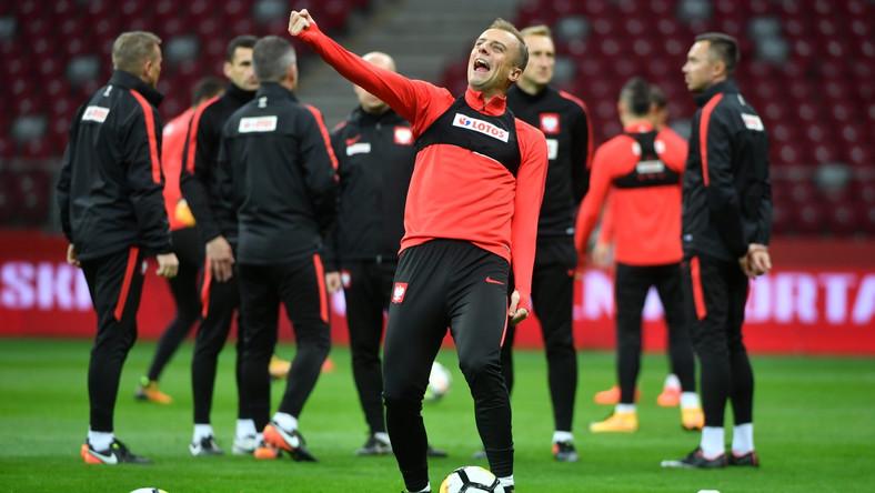 Piłkarz reprezentacji Polski Kamil Grosicki