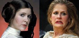 Tak się zmieniła księżniczka Leia! Poznałbyś?