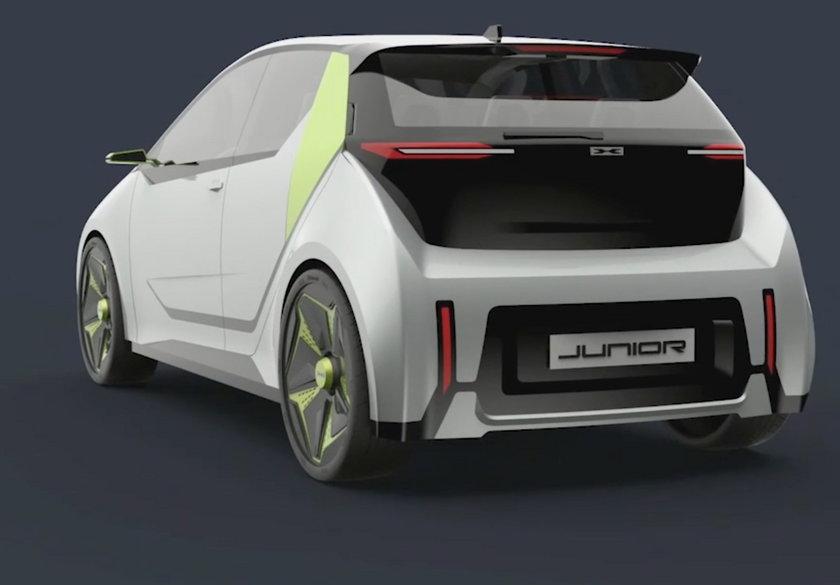 """""""Junior"""", czyli auto elektryczne dla każdego"""