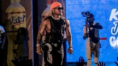 Fan hits Harmonize during highly attended show in Sumbawanga (Video)