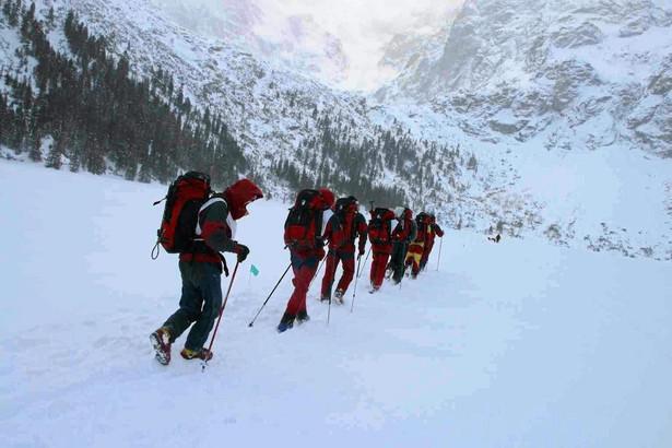W słowackich Tatrach obowiązuje trzeci - znaczny stopień zagrożenia lawinowego