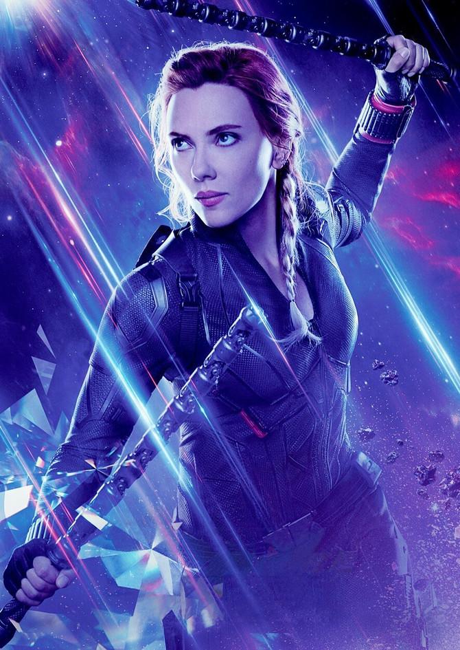 Skarlet Johanson u filmu Avengers Endgame