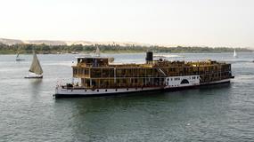 Statek po Nilu, po Nilu statek