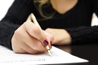 Ponowne złożenie sprzeciwu nie zastąpi podpisania pisma