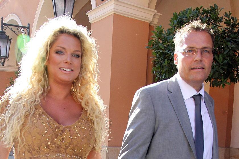 Joanna Liszowska z mężem