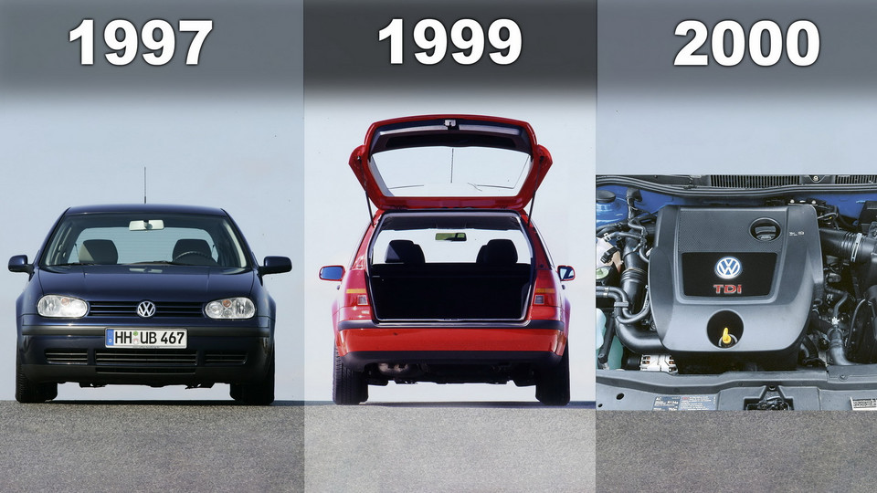 VW Golf IV (1997-2006) - historia