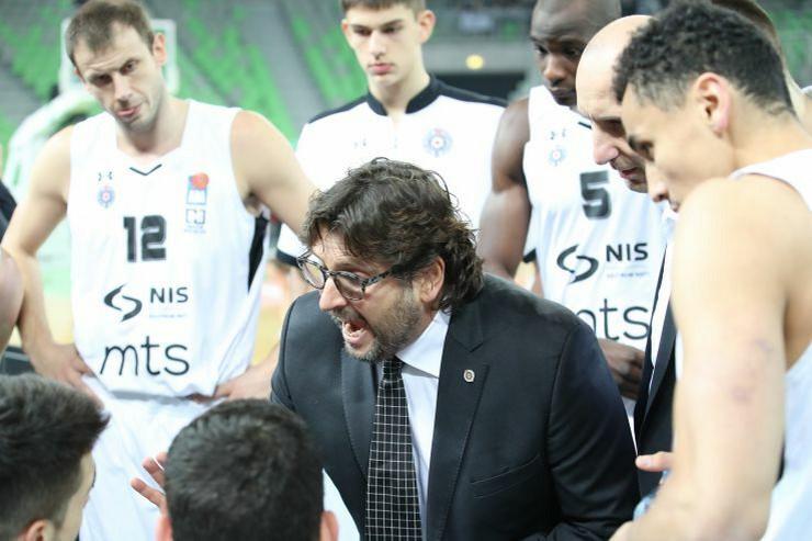 KK Olimpija, KK Partizan